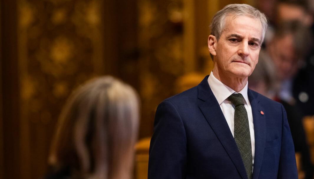 TROR PÅ SP-AVTALE: Ap-leder Jonas Gahr Støre vil ikke kritisere Sp for partiets dieselutspill.