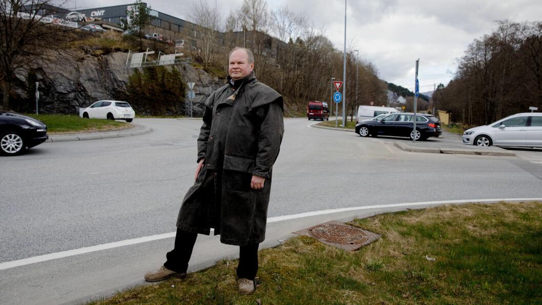 STØRST I BERGEN: Hver fjerde bergenser vil nå gi sin stemme til Folkeaksjonen nei til mer bompenger (FNB) og Trym Aafløy, i følge en ny meningsmåling. Foto: Paul S. Amundsen