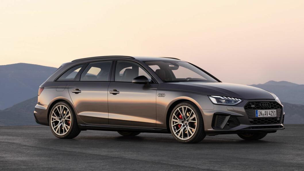 0-100 PÅ 4,8 SEKUNDER: Audi A4 Avant
