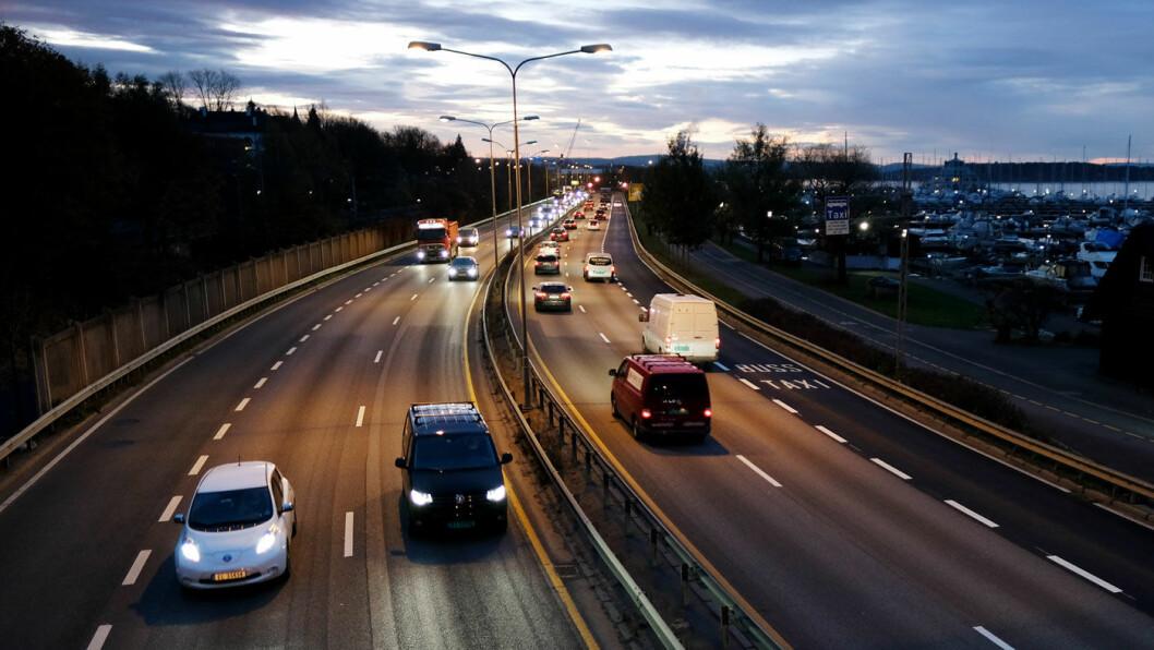 RULLER: Det var i overkant av 500.000 små godsbiler i Norge i fjor. Foto: Jon Terje Hellgren Hansen