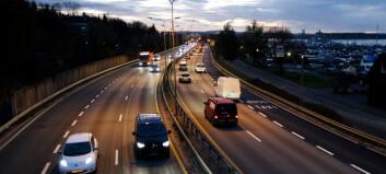 44 prosent av varebilene brukes privat til kjøring