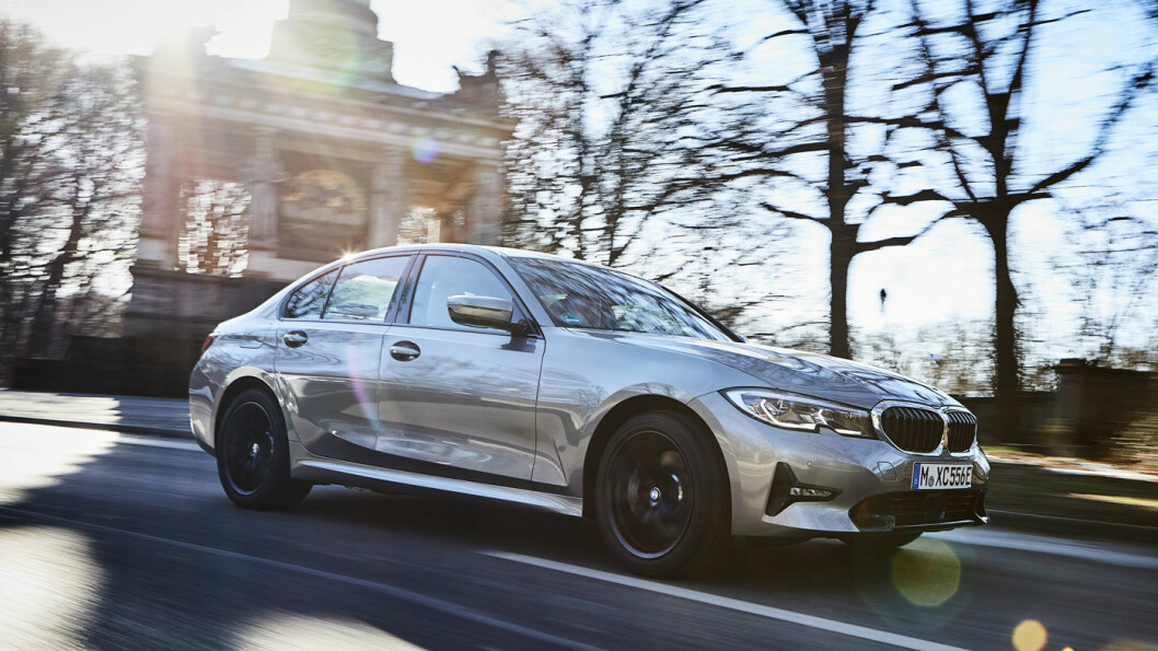 POPULÆR: BMW 330s Sedan.