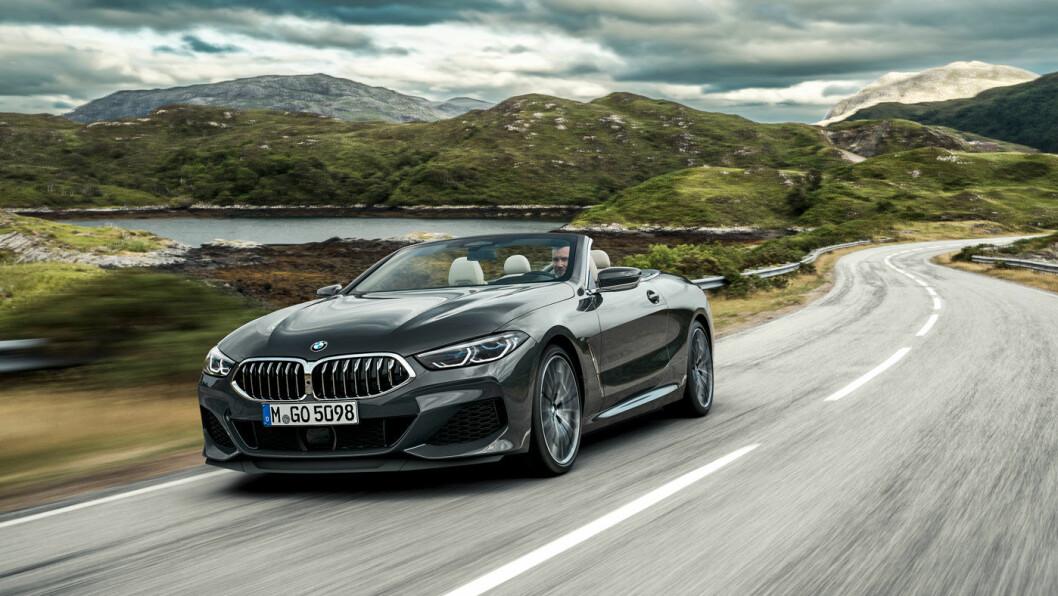 UT PÅ TUR: BMW 8-serie.