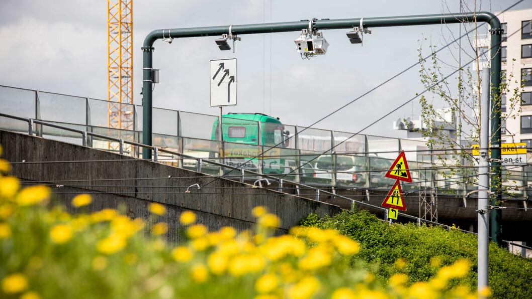 BETAL HER: Bomkameraene står stadig tettere i Oslo, men trafikken går ikke ned. Foto: Tomm W. Christiansen