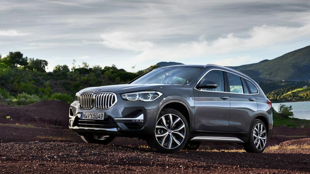 POPULÆR: BMW X1 er konsernets mest populære SUV. Interessen øker nok ytterligere når den kommer som ladbar hybrid om rundt ni måneder. Foto: BMW