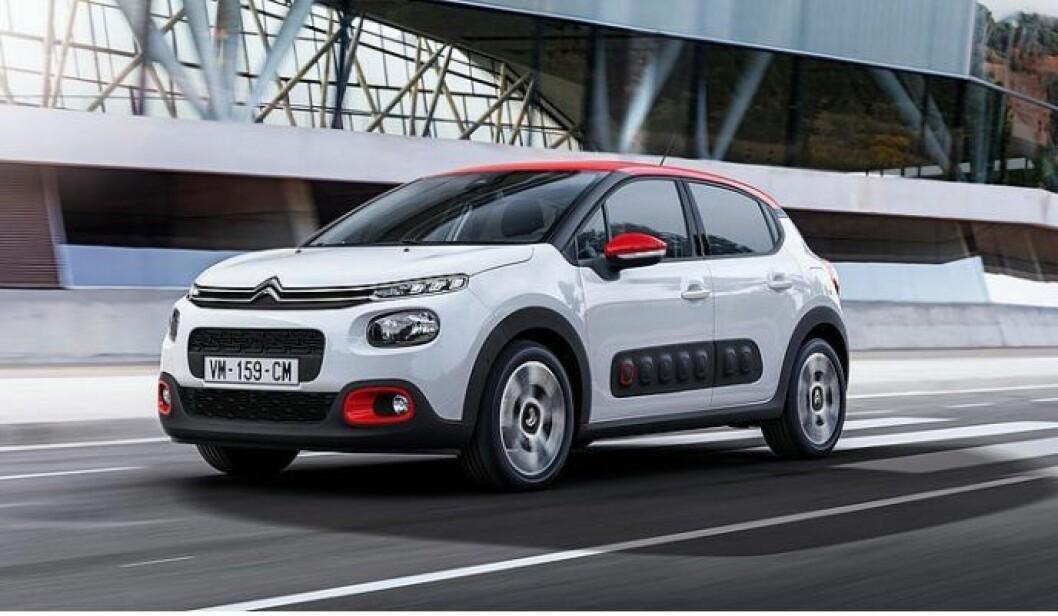 UNGDOMMELIG: Med nye C3 tar Citroën et nytt skritt mot et mer spennende og ungdommelig publikum. Foto: Citroën