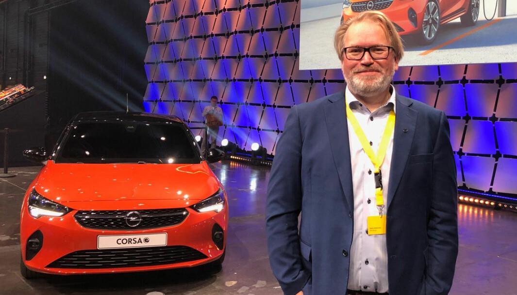 """<span class=""""font-weight-bold"""" data-lab-font_weight_desktop=""""font-weight-bold"""">FØRE VAR: </span>– Vi tar sikkerheten til kundene på største alvor, sier Stein Pettersen, PR- og informasjonssjef for Opel og Citroën hos importøren Bertel O. Steen."""