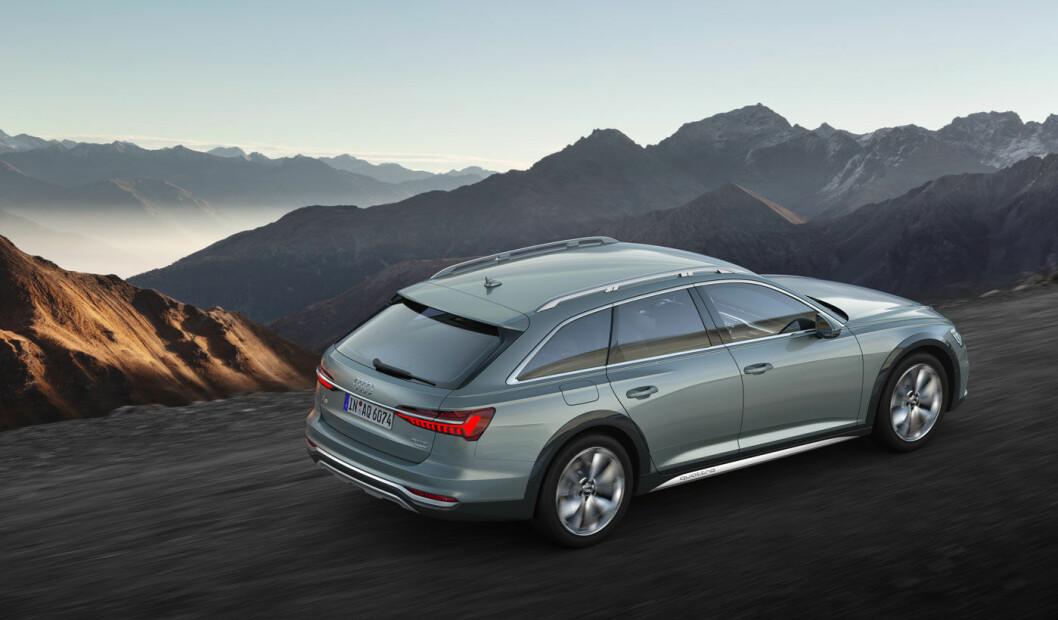FACELIFT: A6 allroad, Audis elegante stasjonsvogn med ekstra gode vinteregenskaper, kommer i en oppgradert utgave til høsten.