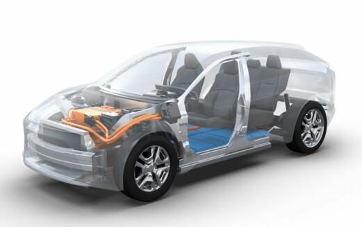 Lager el-SUV sammen