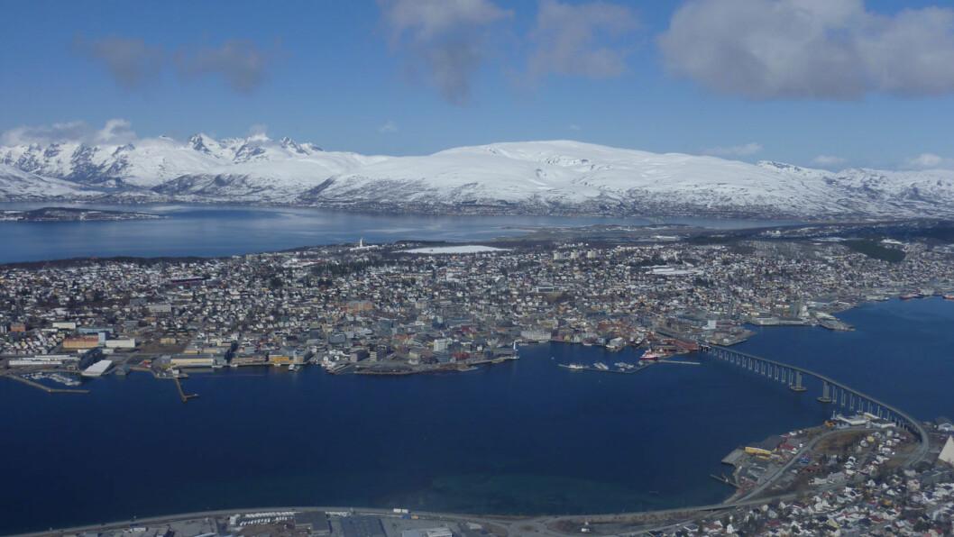 UVISST I TROMSØ: Skjebnen for bypakken i Tromsø er uviss når Frp nå vil stanse alle bypakker hvor endelig byvekstavtale ikke er ferdigforhandlet. Foto: Peter Raaum