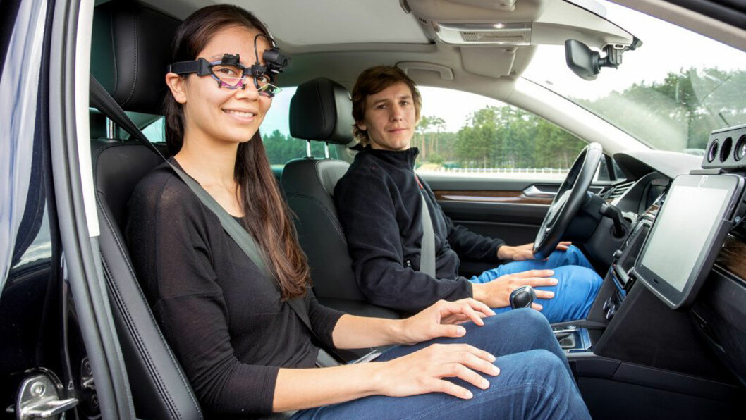 KVALMENDE FORSKNING: Selvkjørende biler øker risikoen for bilsyke. Volkswagen er blant produsentene som nå jobber aktivt for å redusere dette ubehaget. Foto: Volkswagen AG