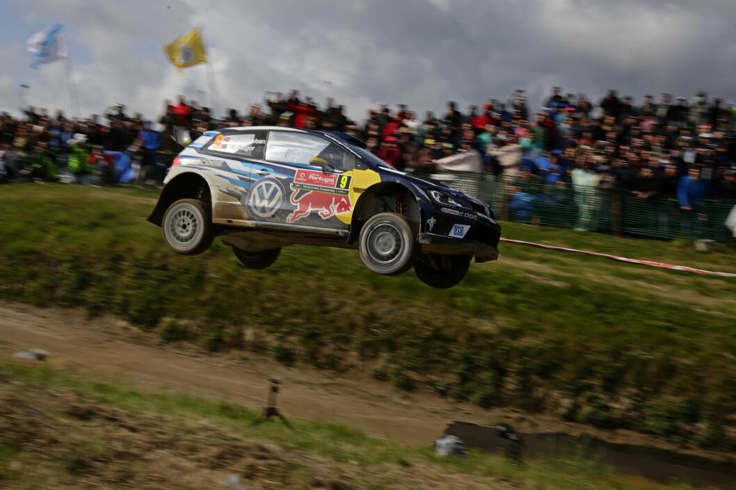 FAVORITTLØP: – Rally Polen er ett av mine favorittløp. Det går fort og jeg vet at mulighetene er gode for å vinne, sier Andreas Mikkelsen. Foto: VW