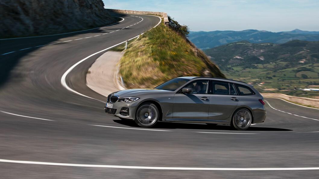 ETTERLENGTET: BMW 3-serie Touring har mange fans i Norge og resten av verden. Nå er den her i en helt ny versjon. Foto: BMW