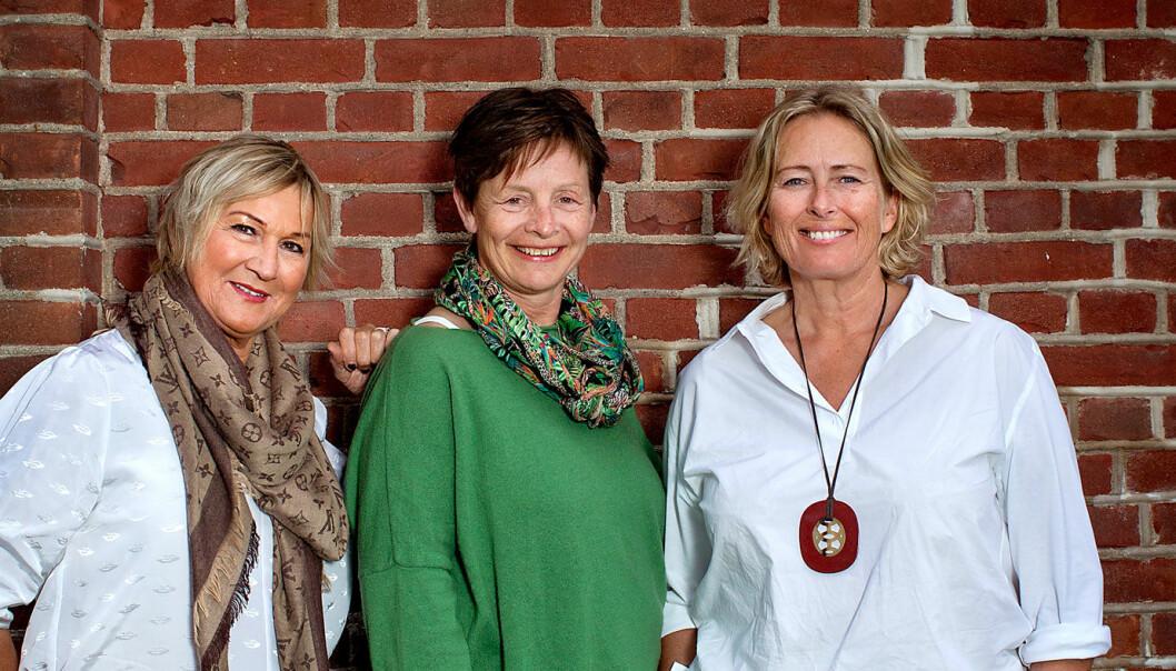 <b>VEIMAT-VINNERE:</b> Anita Gylseth (f.v.) som driver Anitas sjømat på Sakrisøy i Lofoten, Anni Byskov som har startet Annis Spisested på Ringebu i Oppland, og Benedikte Ferner som driver Lokstallen på Røykenvik nær Brandbu.