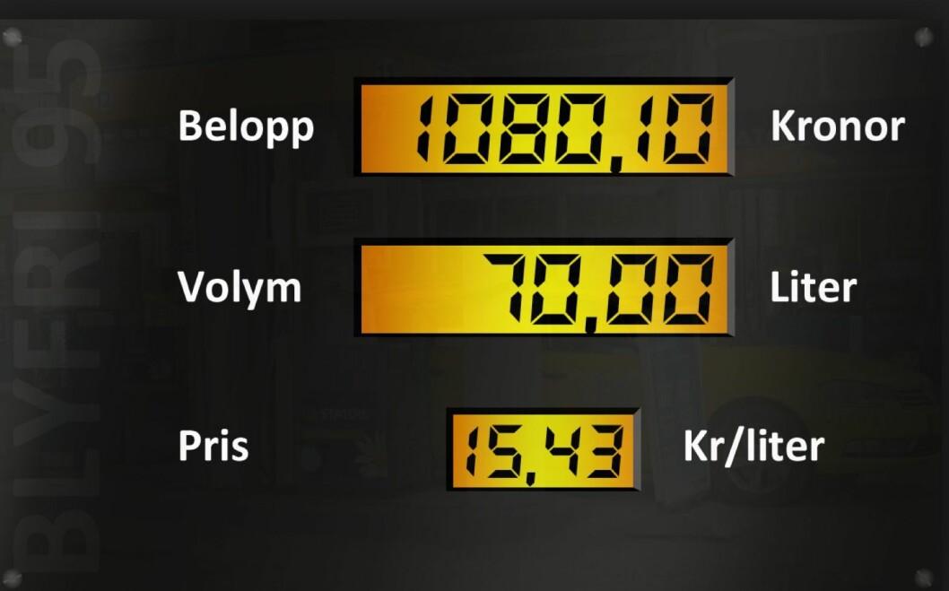 BIODRIVSTOFF OG ØKT SKATT: For å få til et kraftig kutt in utslippene fra trafikken, kan Sverige komme til å satse enda mer på biodrivstoff og øke CO2-avgiftene. Foto: Teknikens Värld