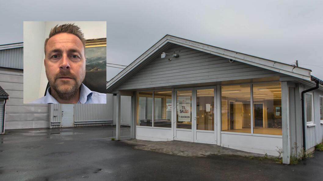 REAGERER: Henning Kaste Isaksen reagerer på at ikke flere kunder er omfattet av tiltalen mot Geir Egil Olsen. Foto: Elisabeth Grosvold/privat