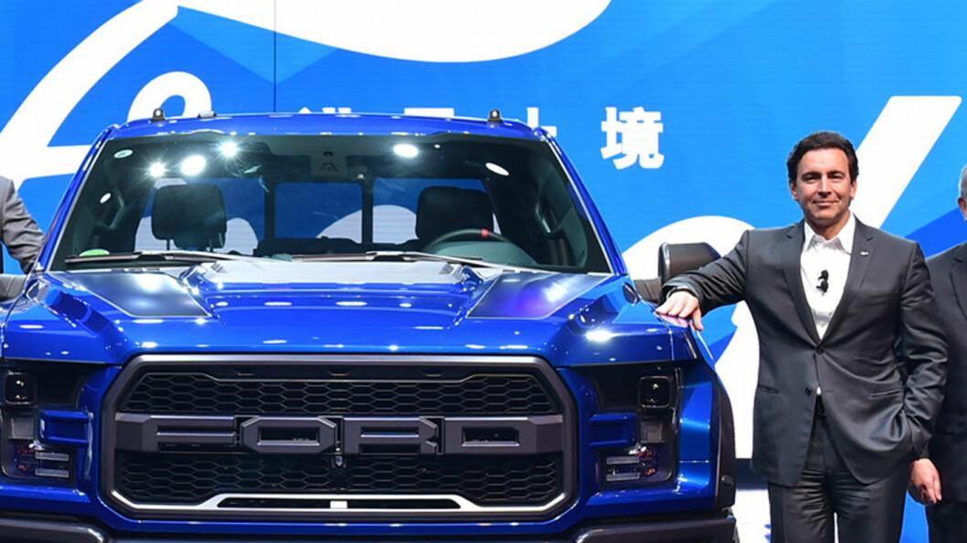 FESTBREMS: Tidligere Ford-sjef Mark Fields tror på elektrifisering av bilen, men frykter at mange har urealistisk optimistiske forventninger. Foto: Ford Motor Company