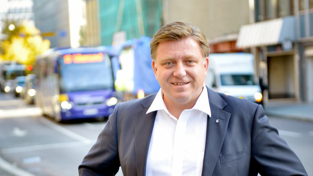 ETTERLYSER KVALITET: Administrerende direktør Geir A. Mo i Norges Lastebileierforbund (NLF) ønsker seg flere veikroer med et godt mattilbud.