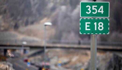Ny E18 kan bli to år forsinket