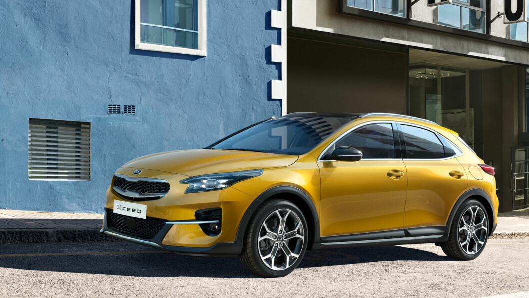 CROSSOVER: Nye Kia Xceed har kvaliteter som kan gjøre den populær i det bilsegmentet som vokser hurtigst i Europa. Den kommer først som ladbar neste år.