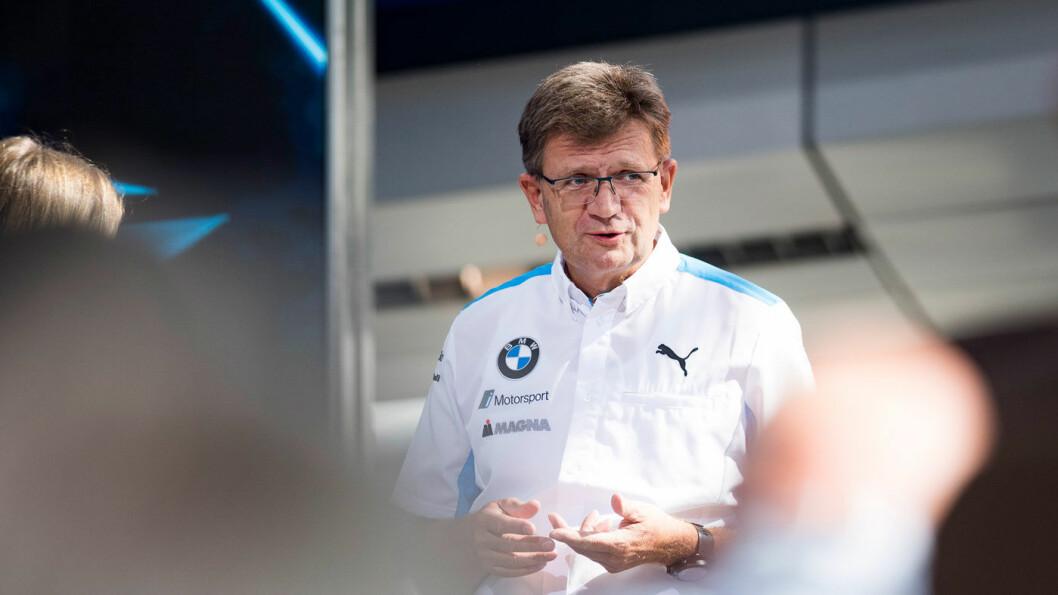 DEN NESTE SJEFEN? Klaus Frölich er overbevist om at bensin- og dieselbilene vil ha en sentral plass til langt utpå 2040-tallet. Foto: BMW