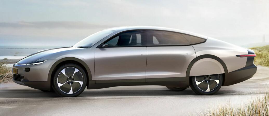 Solcellebilen får startpris på 1,2 millioner