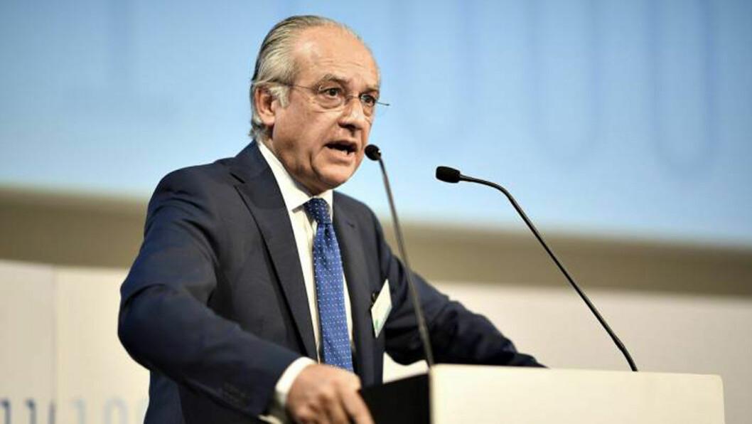 BILSJEF: Eric Jonnaert, generalsekretær i foreningen av europeiske bilprodusenter, ACEA.