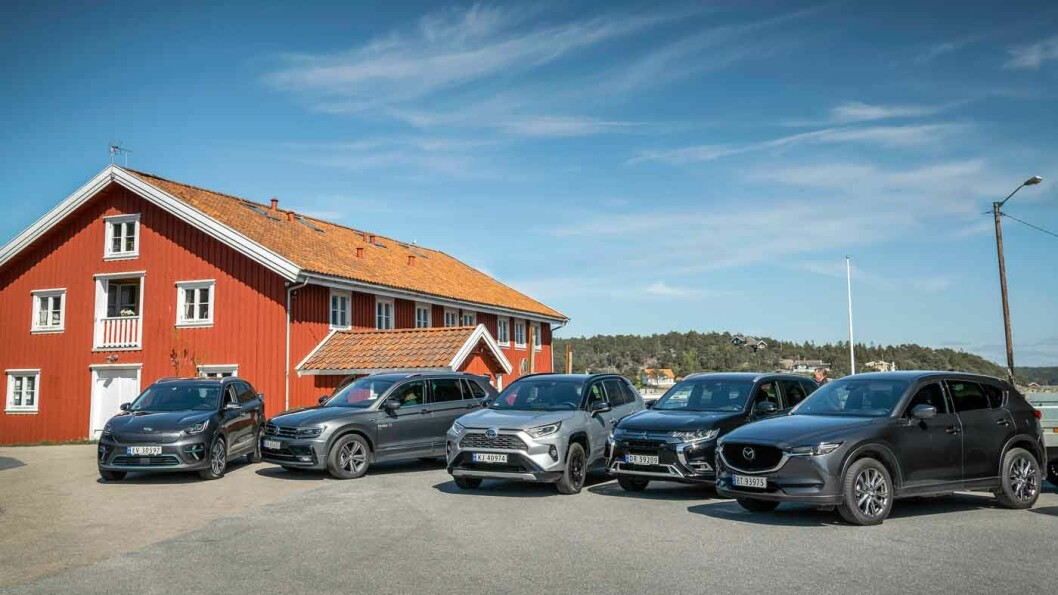 HVA LØNNER SEG: Motor har testet fem populære SUV-er og regnet på kostnadene per kilometer. Foto: Jon Terje Hellgren Hansen