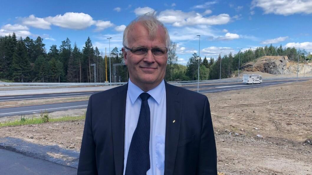 VEIBYGGER: Konserndirektør Arild Moe i AF Gruppen. Foto: Geir Røed.