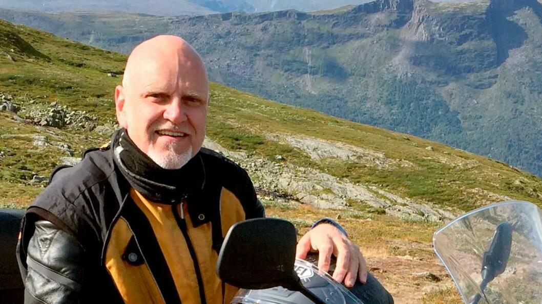 TRYGG OG KUL: Sikkerhetsutstyr og kjøretrening gir langt lavere risiko på sykkel, mener Morten Fransrud, fagsjef i NAF Trafikktrening.