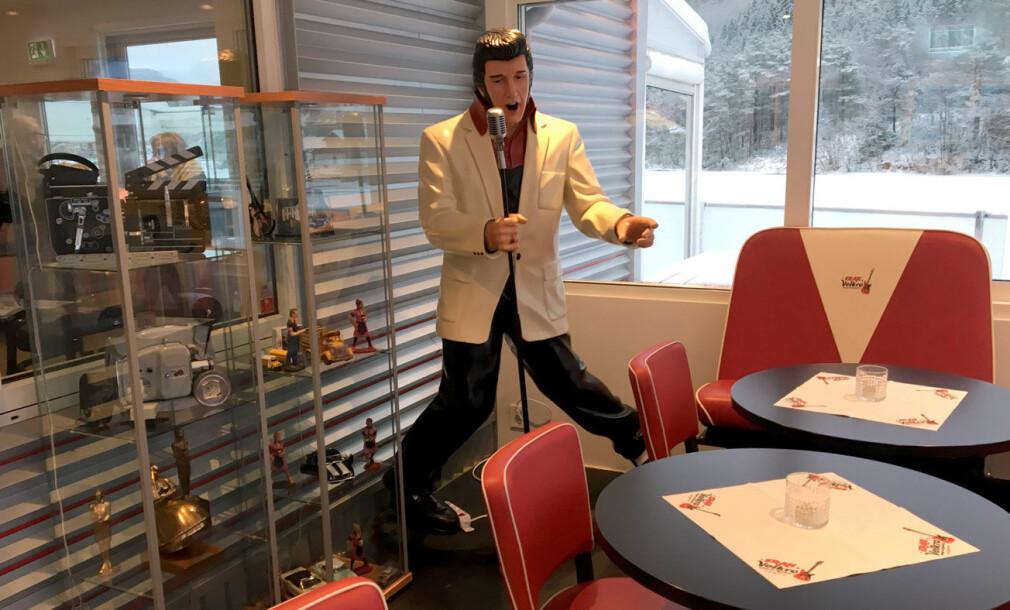 Elvis rocker hele veien til burgerhimmelen