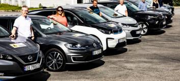 Fem modeller utgjør over halvparten av elbilene i Norge
