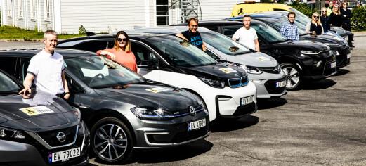Sjekk elbilen som går fire mil med 0 prosent på batteriet
