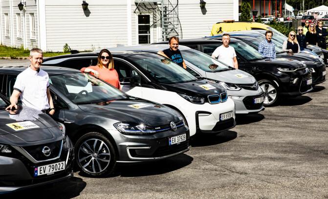 Hvor langt går elbilene med null prosent igjen på batteriet?