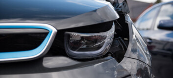 Så mye oftere krasjer elbil-sjåfører