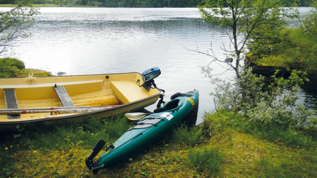 POPULÆRT: På tross av at det er regulert er Stormyrbassenget en populære plass blant padlere. Foto: Per Roger Lauritzen