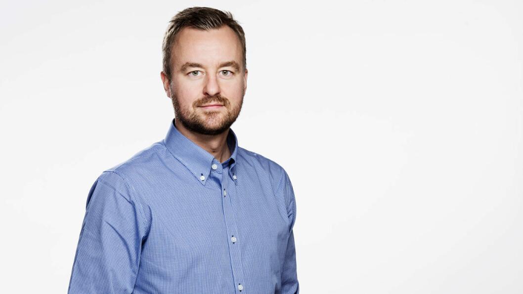 GJENSIDIGE: Kommunikasjonssjef Pål Rune Eklo.
