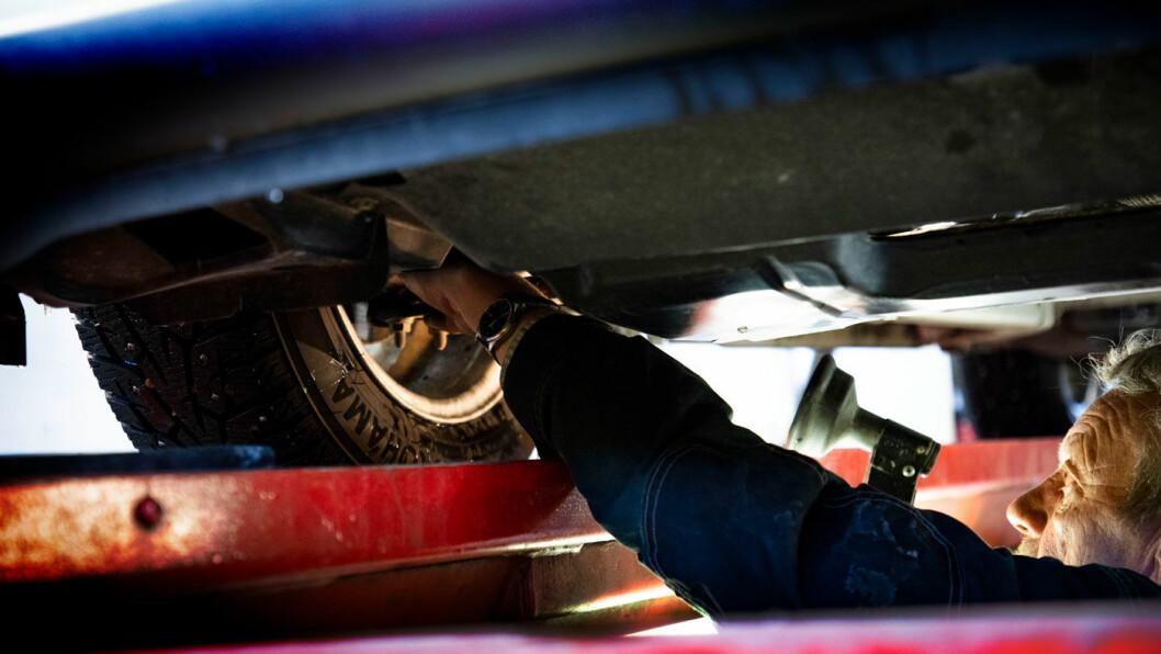 DYRT Å FIKSE: Forsikringsselskapene hevder at elbiler ofte er svært dyre å reparere. Foto: Geir Olsen
