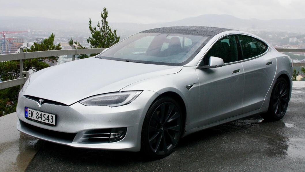 2018-MODELL: Tesla Model S.