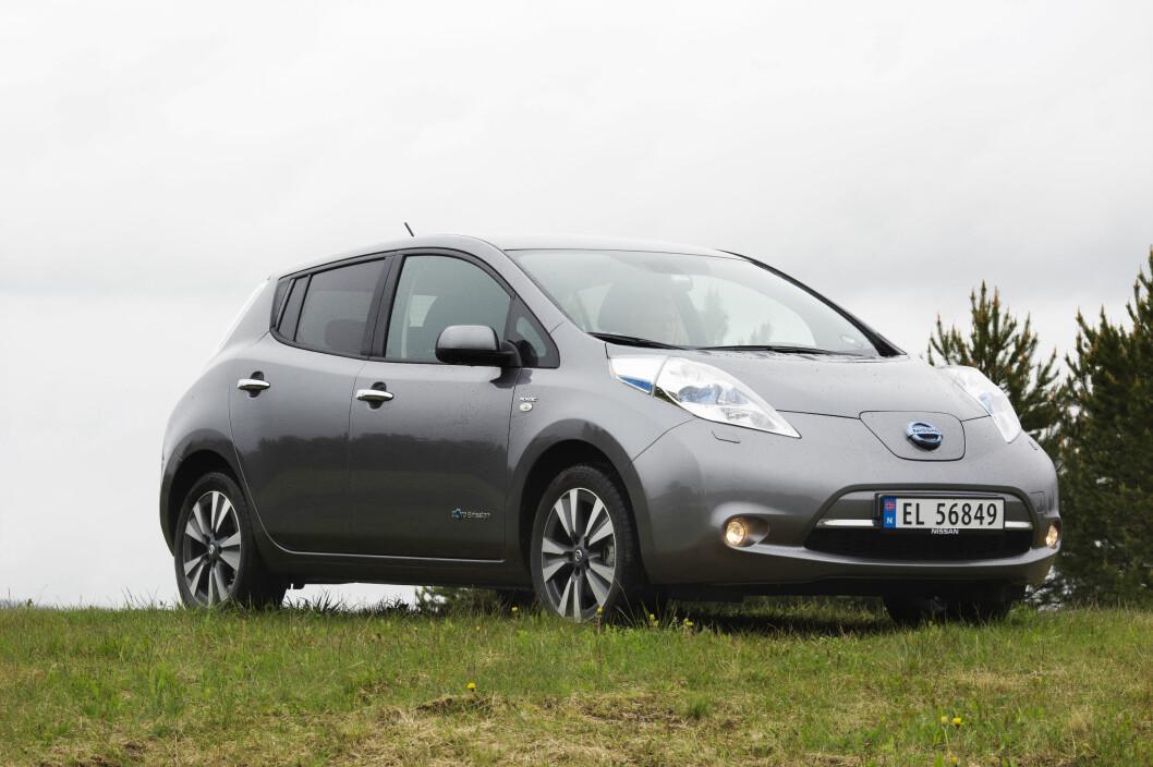 FORRIGE UTGAVE: Nissan Leaf.