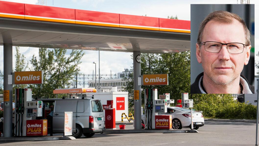 DRIVSTOFFEKSPERT: Få kan mer om drivstoff- og motorteknologi enn Knut Skårdalsmo. Foto: Peter Raaum
