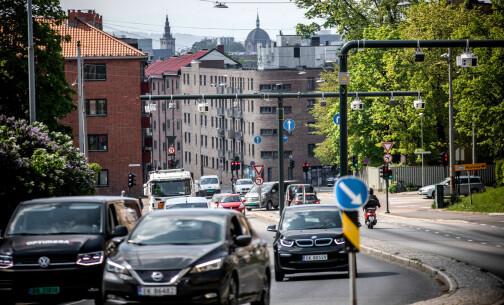 Hver fjerde bil i bomringen i Oslo er en elbil
