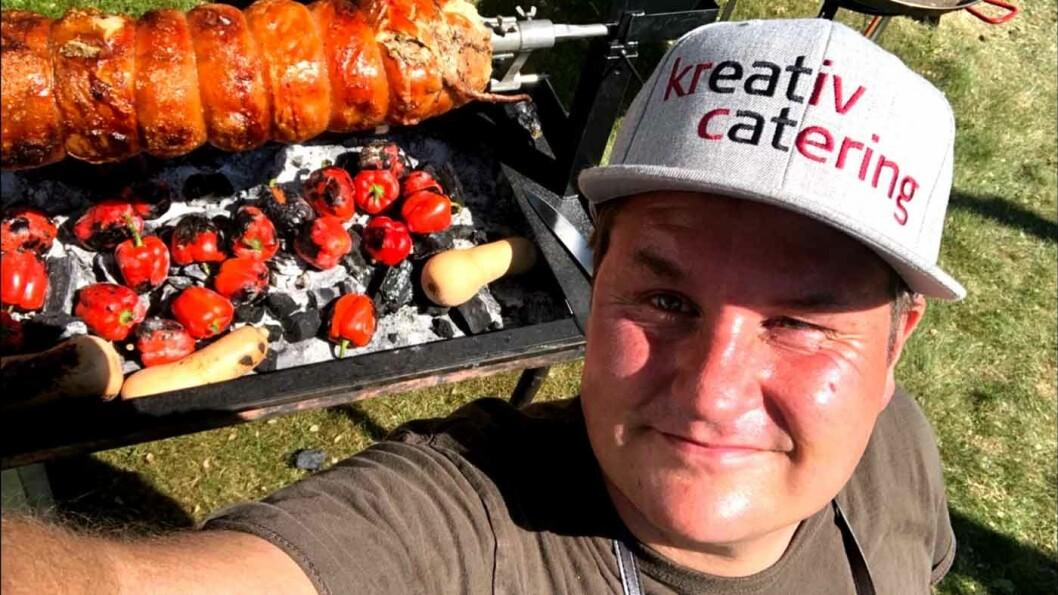 TROR PÅ BEDRING: Tommy Østhagen er kokk og pølsemaker.