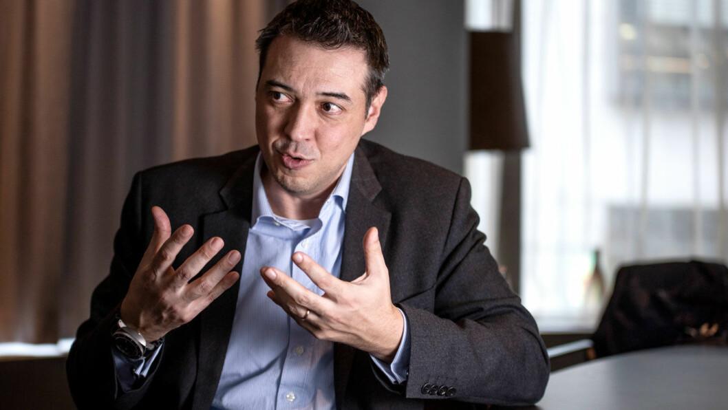 TRIPPEL-TRENDER: – Tre hovedtrender er reelle for bilindustrien: Elektrifisering, sammenkobling og selvkjøring, mener Francesco Carranza.