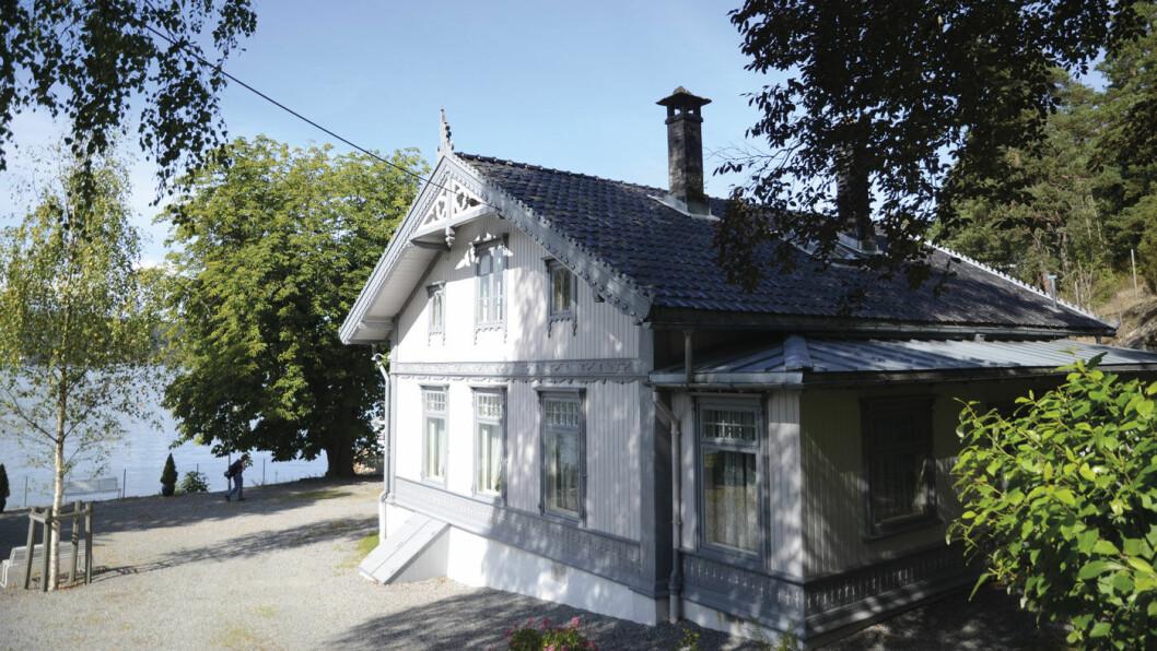 NESTEN SOM FØR: Roald Amundsens hjem på Svartskog står nesten slik polfareren forlot det i 1928. Foto: Per Roger Lauritzen