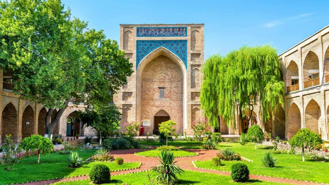MONUMENTALT: Madrasah Kukeldash i Tasjkent.