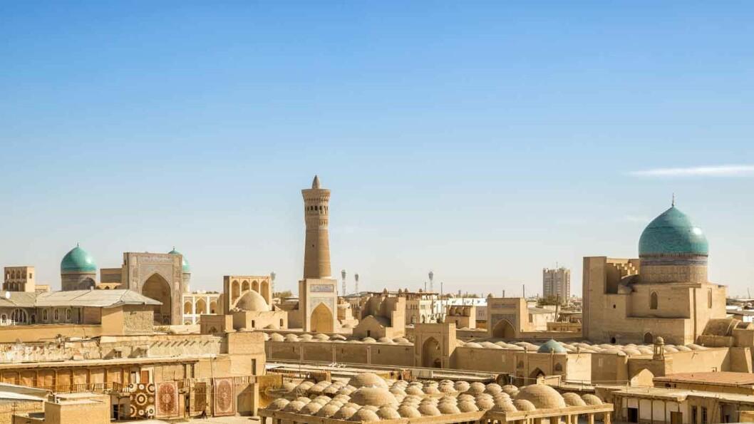 SILKEVEIENS STORHETSTID: Hele det historiske sentrum i Bukhara står på UNESCOs verdensarvliste.