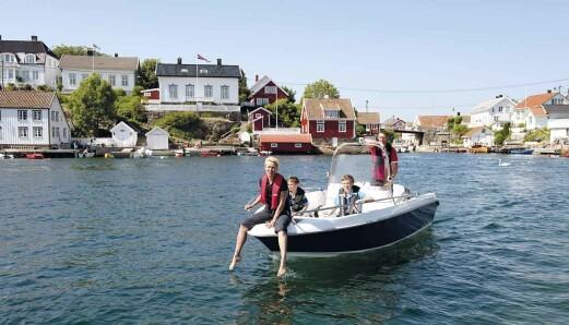 Gjennom sørlandsidyllene langs spissen av Norge