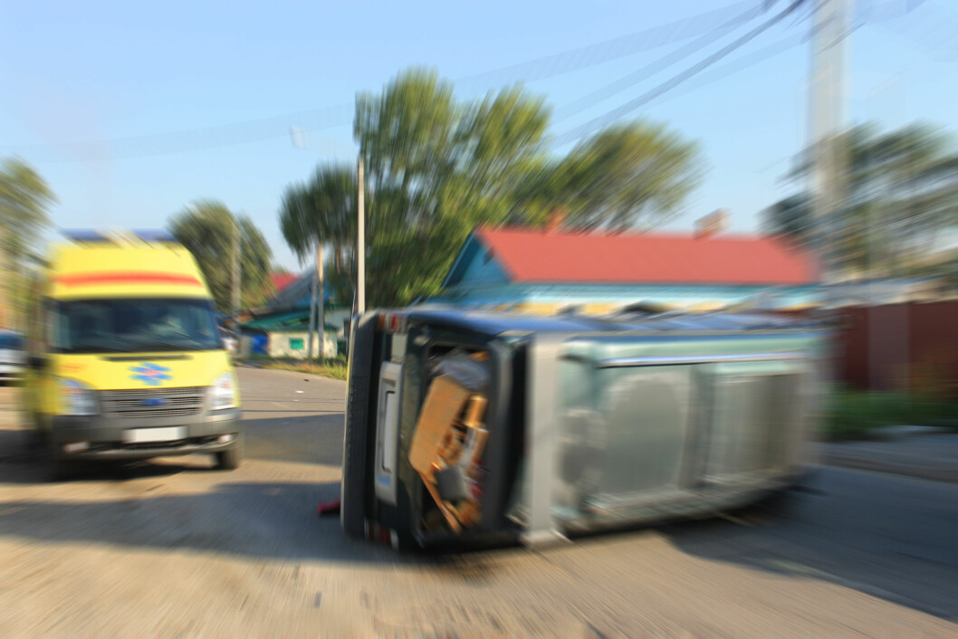 FYLLA FÅR SKYLDA: Flere ble drept i trafikken i EU i fjor. Høy fart og fyll får skylda Foto: Colourbox