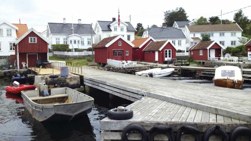 ØYHOPPING: Merdø, utenfor Arendal, byr både på et lite museum og fine turstier. © Foto: Wikimedia